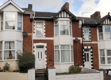 Thumbnail 3 bed terraced house to rent in Sherwell Hill, Torquay