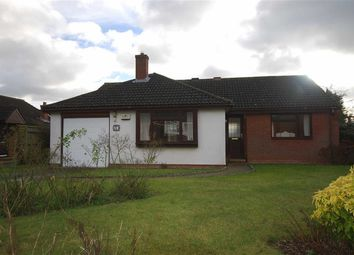 Thumbnail 3 bed detached bungalow for sale in Bramley Close, Ledbury, Herefordshire