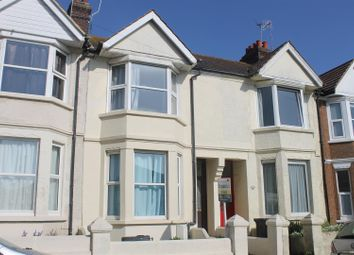 Thumbnail 3 bed terraced house for sale in Reginald Road, Bexhill-On-Sea