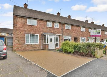 Thumbnail 3 bed end terrace house for sale in Weldon Way, Merstham, Redhill, Surrey
