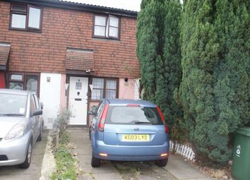 Thumbnail 2 bed terraced house to rent in Tiptree Close, Mapleton Road, London