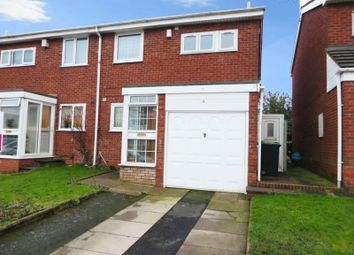 Thumbnail 3 bed semi-detached house for sale in Churchill Close, Tividale, Oldbury