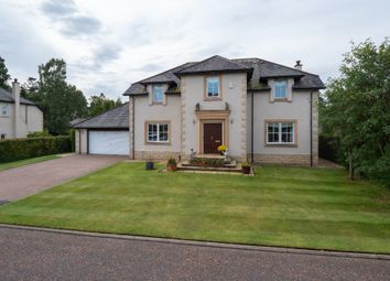 Thumbnail 5 bedroom detached house for sale in Wylie Court, Druids Park, Murthly, Perthshire