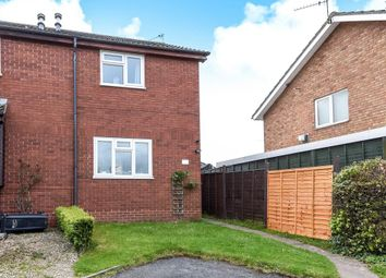 Thumbnail 2 bedroom semi-detached house to rent in Beaufort Avenue, Hereford