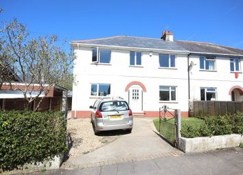 Thumbnail 4 bed semi-detached house for sale in Belvedere Road, Newton Abbot