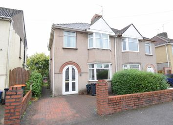 Thumbnail 3 bedroom semi-detached house for sale in Mendalgief Road, Newport