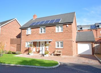 Thumbnail 4 bed detached house for sale in Allamand Close, Church Crookham, Fleet