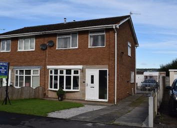 Thumbnail 3 bed semi-detached house for sale in Eton Close, Padiham, Burnley