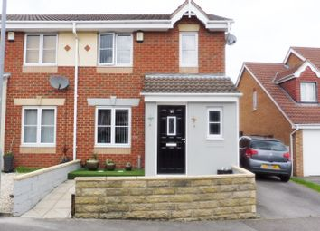 Thumbnail 3 bed semi-detached house for sale in Manor Fields, Great Houghton