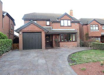 Thumbnail 4 bedroom detached house for sale in Sandybrook Close, Fulwood, Preston