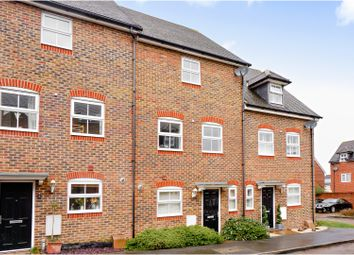 Thumbnail 4 bed town house for sale in Capercaillie Close, Jennetts Park, Bracknell