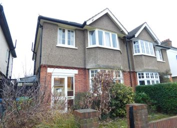 Thumbnail 3 bed semi-detached house for sale in Norbiton Avenue, Norbiton, Kingston Upon Thames