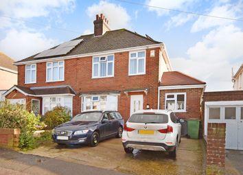 Thumbnail 4 bed semi-detached house for sale in Warren Way, Folkestone
