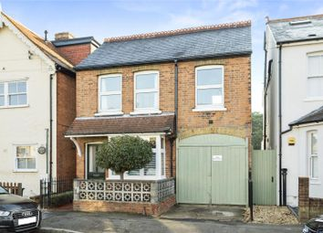 Thumbnail 3 bed detached house for sale in Elmgrove Road, Weybridge, Surrey