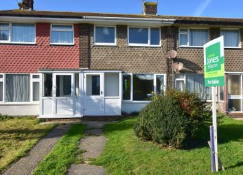 Thumbnail 2 bed terraced house to rent in Garden Close, Sompting, Lancing