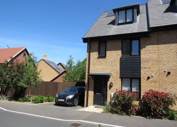 Thumbnail 3 bed property to rent in Charlotte Way, Leybourne, West Malling