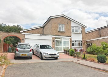 Thumbnail 3 bed detached house for sale in Shearsby Close, Wigston, Leicester