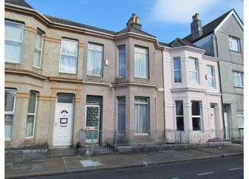 Thumbnail 3 bed terraced house for sale in Egerton Place, Plymouth