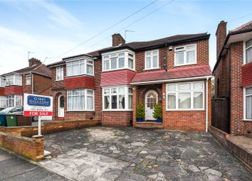 Thumbnail 4 bed semi-detached house for sale in St. Andrews Drive, Stanmore, Middlesex