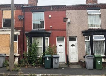 Thumbnail 2 bed terraced house for sale in 8 Eldon Road, Birkenhead, Merseyside