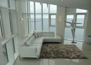 Thumbnail 3 bed flat for sale in Meridian Tower, Trawler Road, Swansea