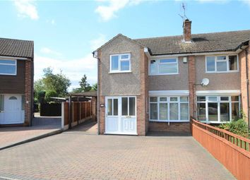 Thumbnail 3 bed semi-detached house for sale in Lilac Close, Keyworth, Nottingham