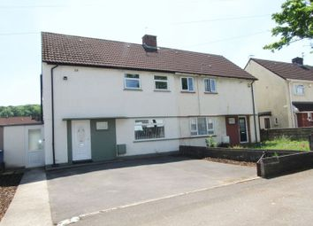 Thumbnail 3 bed semi-detached house for sale in Bishopston Road, Ely, Cardiff