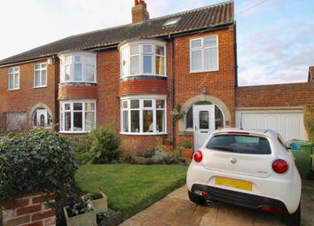 Thumbnail 4 bed semi-detached house for sale in Felton Crescent, Saltwell, Gateshead, Tyne & Wear