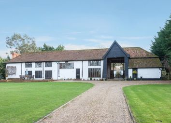 Thumbnail 5 bed barn conversion for sale in The Leys, Topcroft Lane, Topcroft, Bungay, Norfolk