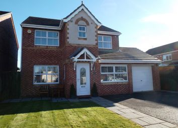 Thumbnail 4 bedroom detached house for sale in Langley Grove, Peterlee