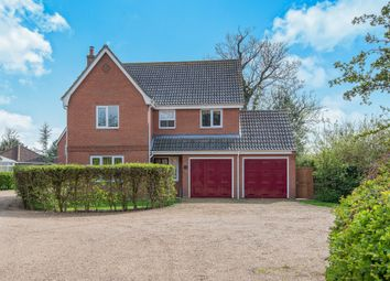 Thumbnail 4 bed detached house for sale in Lincolns Field, Barnham Broom, Norwich