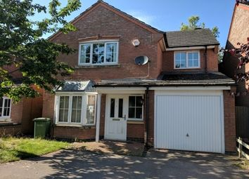 Thumbnail 4 bed detached house to rent in Fludes Court, Oadby, Leicester
