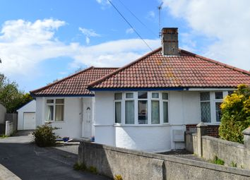 Thumbnail 2 bed semi-detached bungalow for sale in Lewisham Grove, Weston-Super-Mare