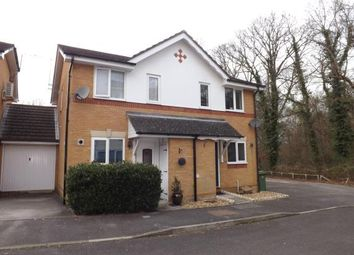 Thumbnail 2 bed semi-detached house for sale in Whiteley, Fareham, Hampshire