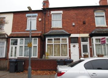 Thumbnail 3 bed terraced house for sale in Newcombe Road, Handsworth, Birmingham