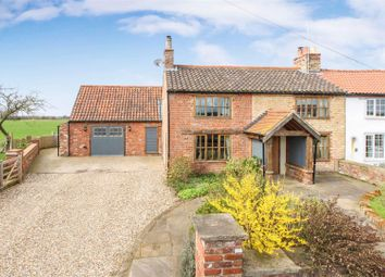 Thumbnail 4 bed cottage for sale in Lowthorpe, Driffield