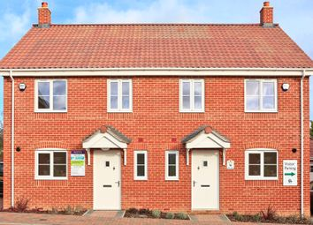 Thumbnail 3 bed semi-detached house for sale in Meadowlands, Wrentham, Beccles