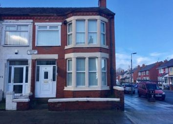 Thumbnail 5 bed end terrace house for sale in Trevor Rd, Liverpool
