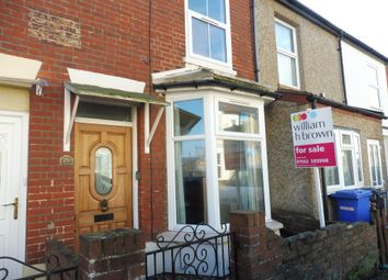 Thumbnail 3 bedroom terraced house for sale in Beaconsfield Road, Lowestoft