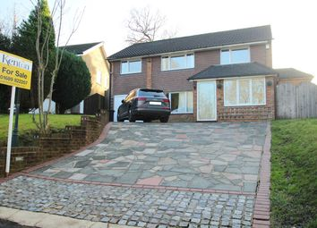 Thumbnail 4 bed detached house for sale in Warren Road, Chelsfield
