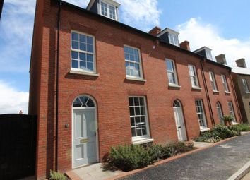 Thumbnail 4 bed town house to rent in Reeve Street, Poundbury, Dorchester, Dorset