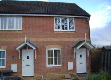 Thumbnail 2 bed end terrace house to rent in Marston Drive, Newbury