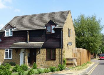 Thumbnail 2 bed semi-detached house for sale in Frank Lunnon Close, Bourne End