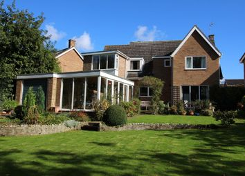 Thumbnail 4 bed detached house for sale in Applegarth Court, Wymondham