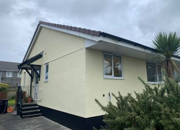 Thumbnail 2 bed semi-detached bungalow to rent in Braddock Close, Foxhole, St. Austell