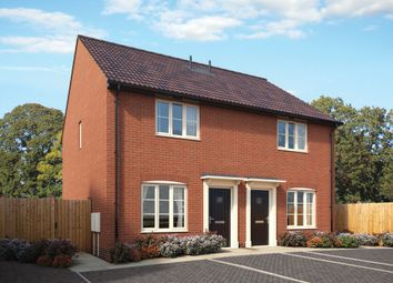 Thumbnail 2 bed semi-detached house for sale in The Sidings, Mendlesham