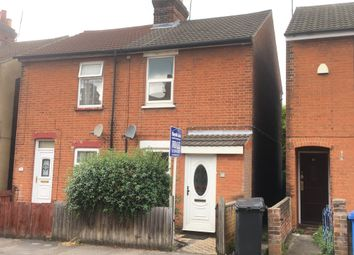 Thumbnail 2 bed semi-detached house to rent in Beaconsfield Road, Ipswich