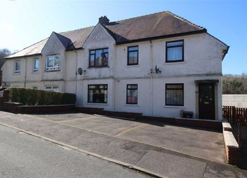 Thumbnail 3 bedroom flat for sale in Mathie Crescent, Gourock