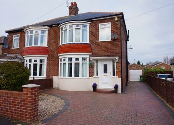 Thumbnail 3 bed semi-detached house for sale in Highfield Crescent, Stockton-On-Tees