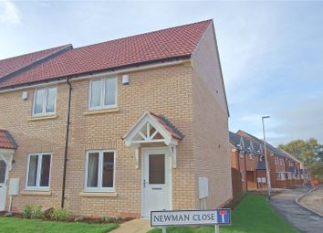 Thumbnail 2 bed town house to rent in Newman Close, Loughborough, Leicestershire
